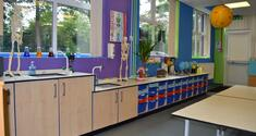 Primary School Science Classroom